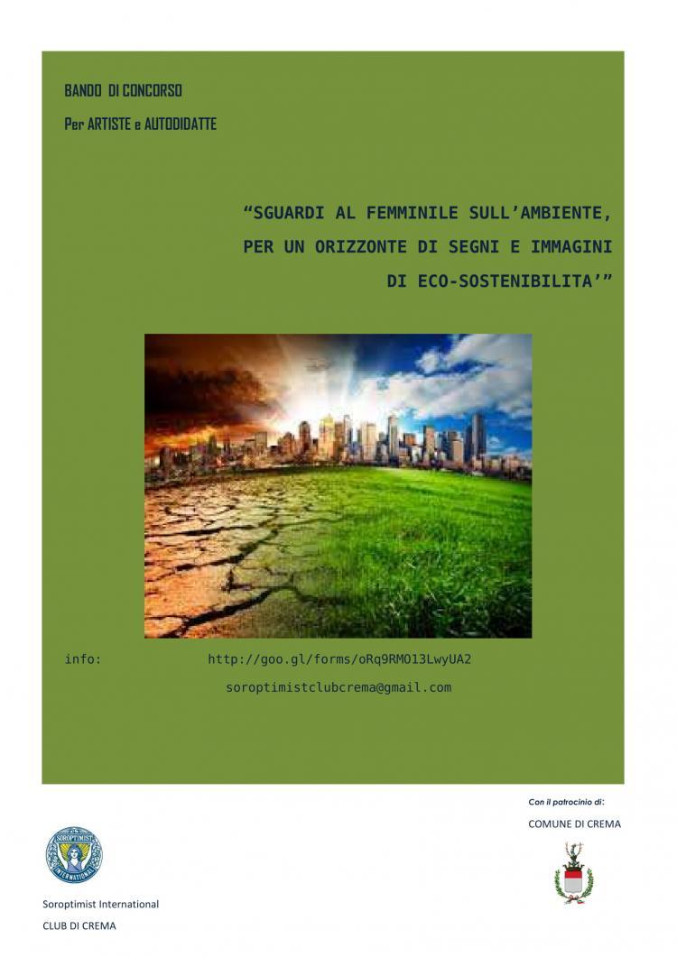 Sguardi al femminile sull'ambiente, per un orizzonte di segni e immagini di eco-sostenibilità